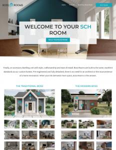 Boss Rooms Website