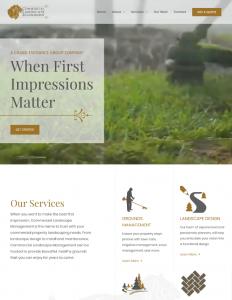 Commercial Landscape Management Website