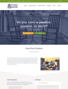 Front Porch Studio Website