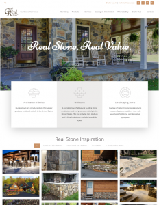 Get Real Stone Website