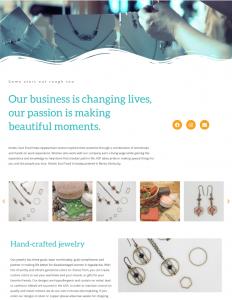 Kinetic Soul Food Jewelry Website
