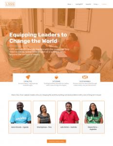 Lead 555 Nonprofit Website