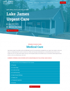 Urgent Care Website