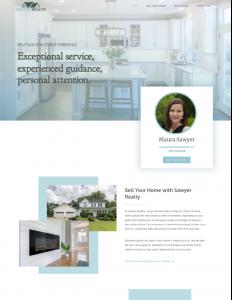 Sawyer Realty Website